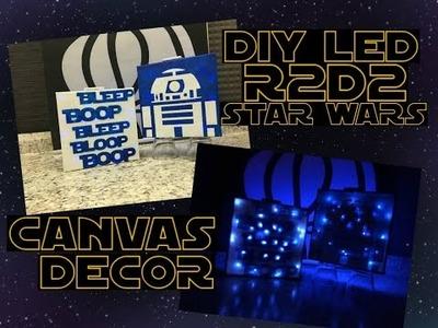 DIY Star Wars LED Light Canvas