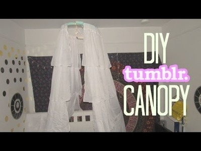 DIY Tumblr Bed Canopy. Jordyn Loven