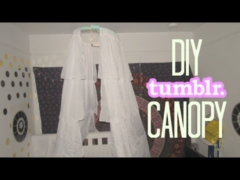 DIY Tumblr Bed Canopy. Jordyn Loven