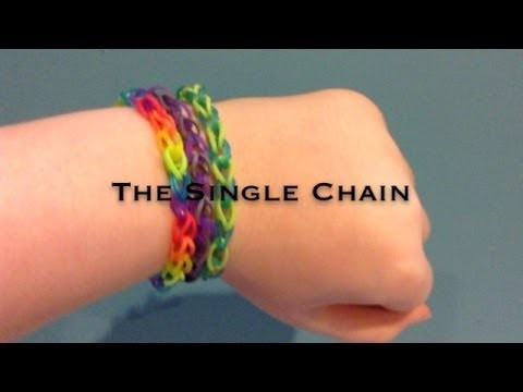 Easy Single Chain Bracelet tutorial