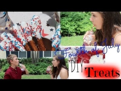 Fourth of July DIY Treats! + GIVEAWAY!! (CLOSED!!)
