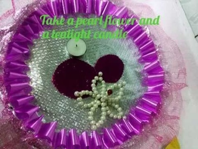 How To Decorate a Wedding Tray :-) DIY