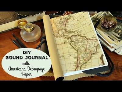 HOW TO: DIY Bound Journal