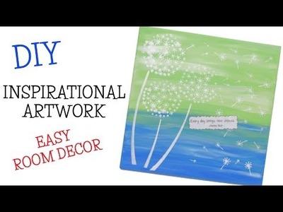 Inspirational Resin Artwork DIY ~ Easy Room Decor
