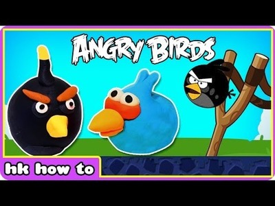 Play Doh ANGRY BIRDS | Surprise Fun Toys | Easy DIY Play Doh Creation