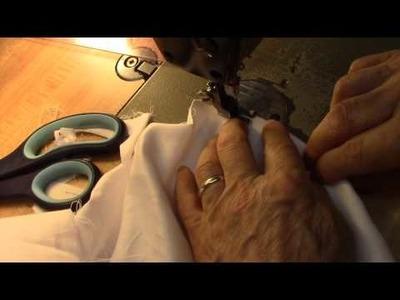 The Triple Stitch Tutorial (DIY Lemon Bag Project)