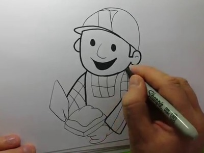 Bob The Builder How to Draw Series Learn to draw Bob The Builder