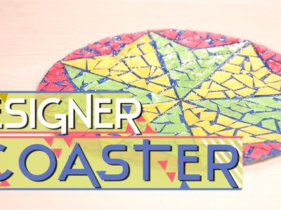 Coaster Making: How To Make A Decorative Tea Coaster. Watch this educative video and Learn.