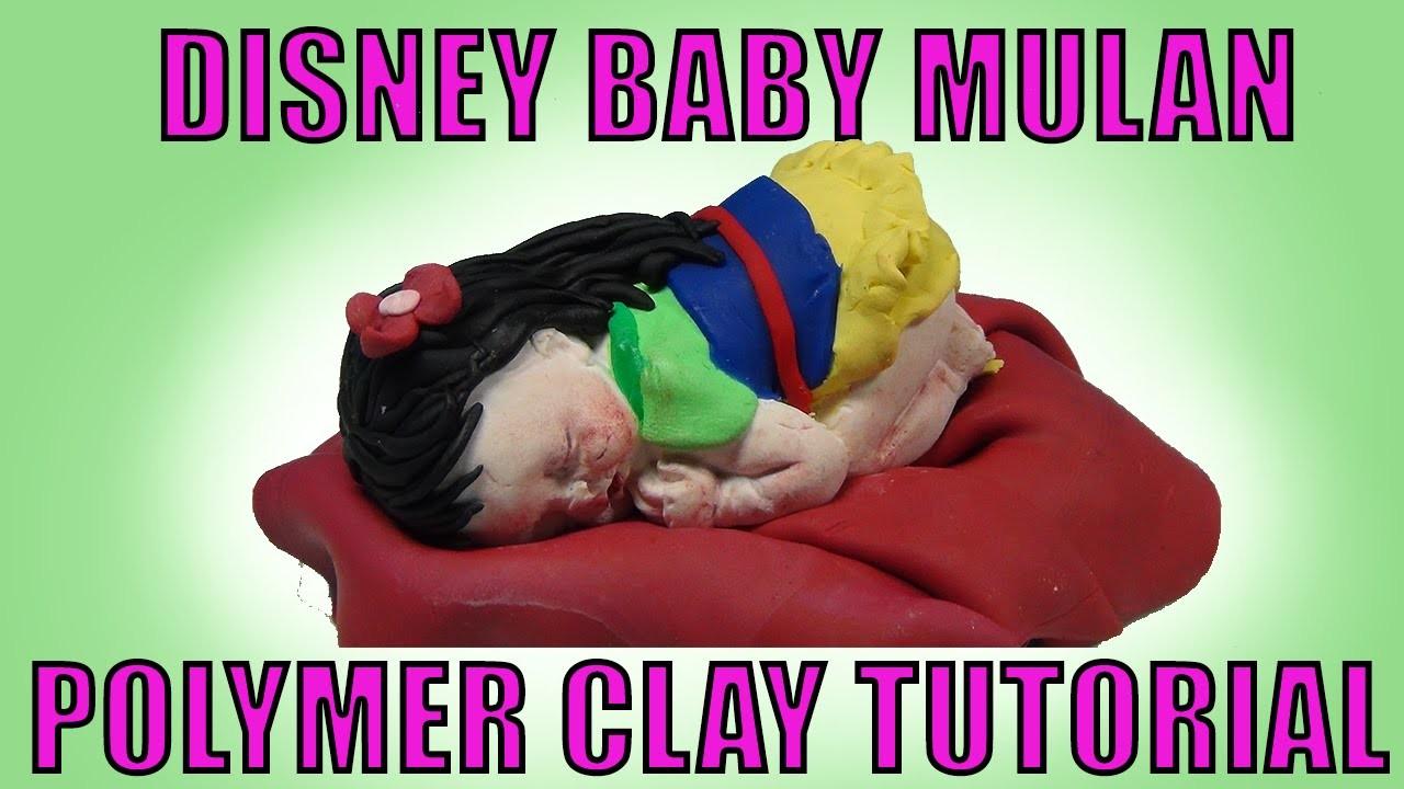 Disney Princess Mulan Baby How to Make Polymer Clay Tutorial