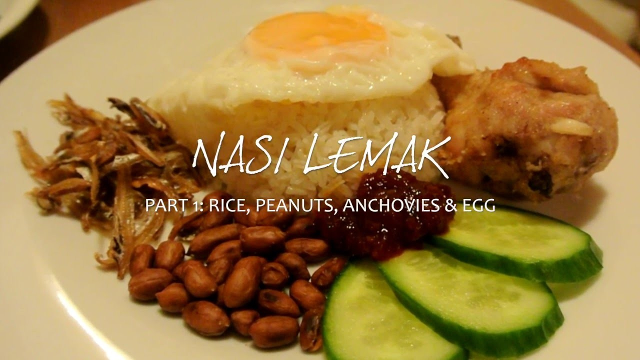 Homemade Nasi Lemak (Part 1)    Learn How To Make Coconut Rice Using A Rice Cooker!