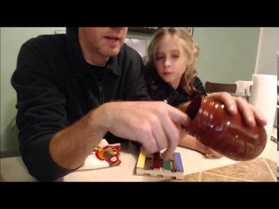 How to Bake Enamel Paint on the Inside of a Mason Jar
