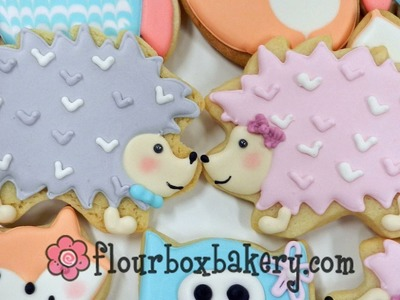 How to Decorate a Hedgehog Cookie