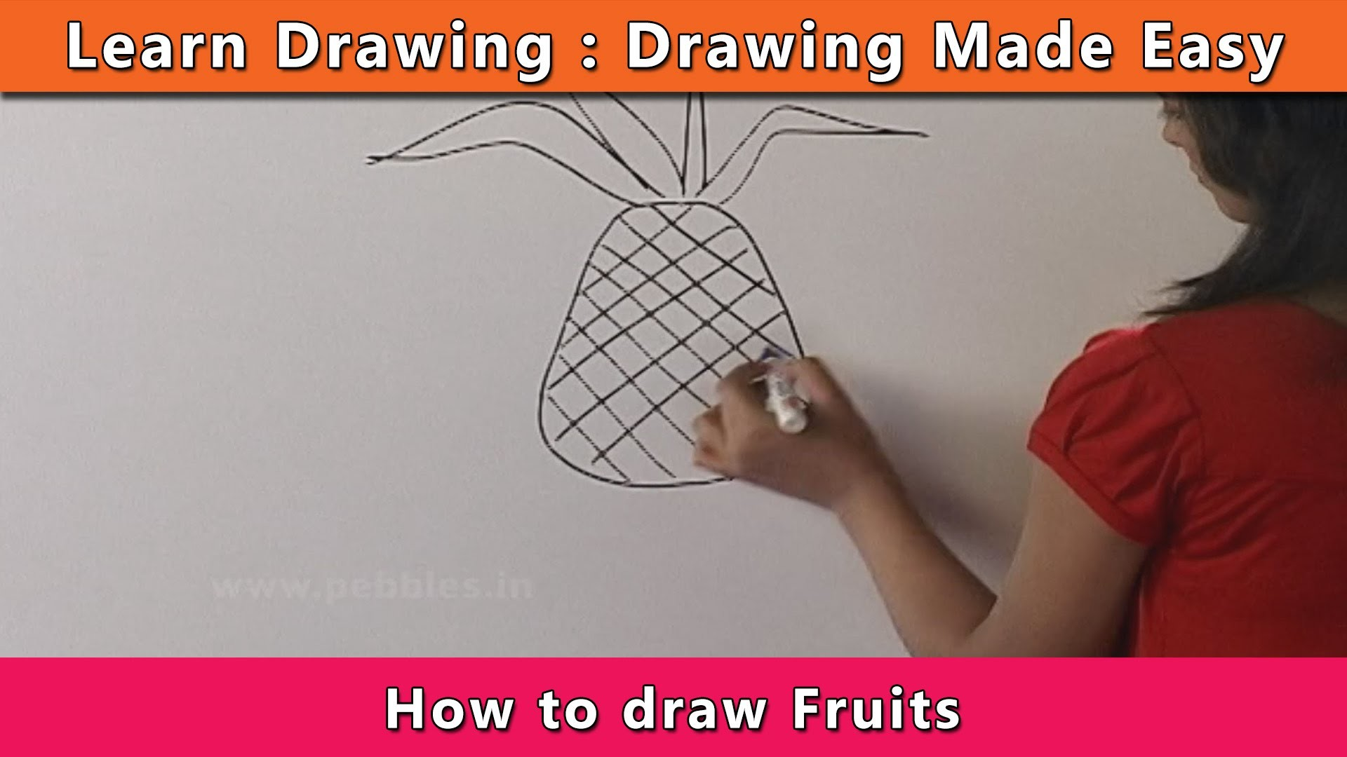 How To Draw Fruits Learn Drawing For Kids Learn Drawing Step By
