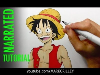"How to Draw Luffy from ""One Piece"""