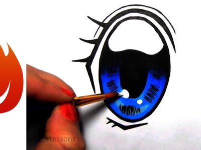 How-to Draw Manga Eyes
