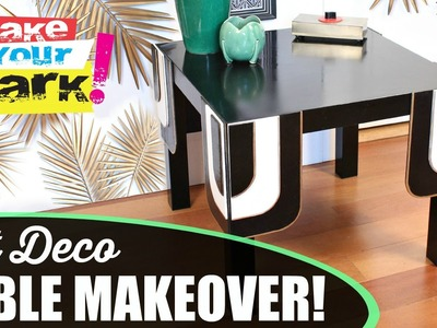 How to: IKEA Hack Table Makeover