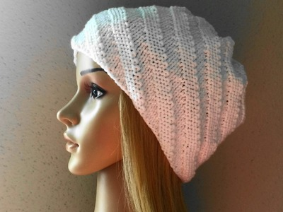 How To Knit A Swirl Hat, Lilu's Knitting Corner Video # 21