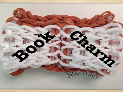 How to Loom: Book charm (hook only)