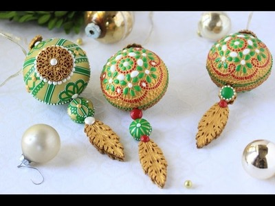 How to Make 3-D Embossed Christmas Ornament Cookies