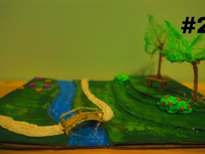 How to make a 3D Garden (3D Scribbler Pen) Part 2