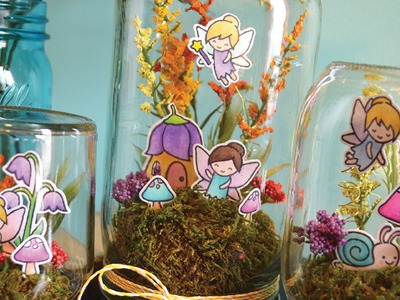 How to make a Fairy Terrarium Jar