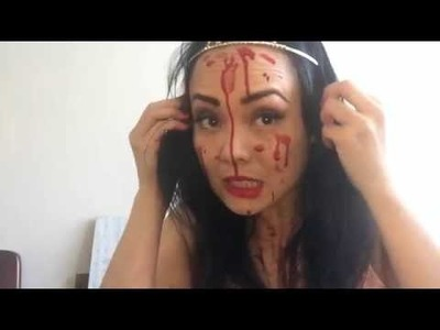 How To Make a Halloween Dolly Varden Carrie Cake!
