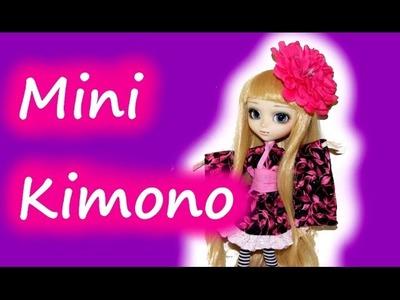 How to make a mini Kimono for Dolls