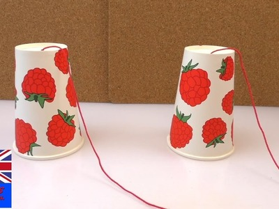 How to make a paper telephone
