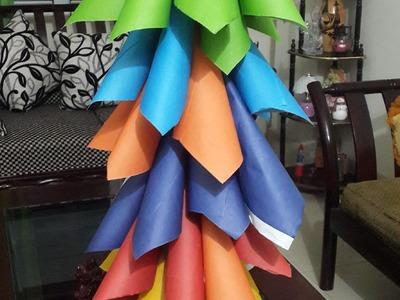 How to make a Rainbow  Christmas tree