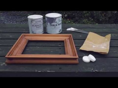 How to Make a Shabby Chic Frame