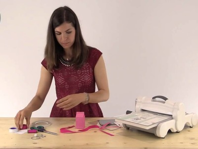 How to make a Sizzix Milk Carton Gift Box