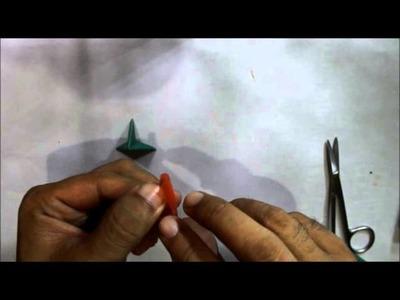 How to make a star from a plastic straw (remake) cara membuat bintang dari sedotan plastik