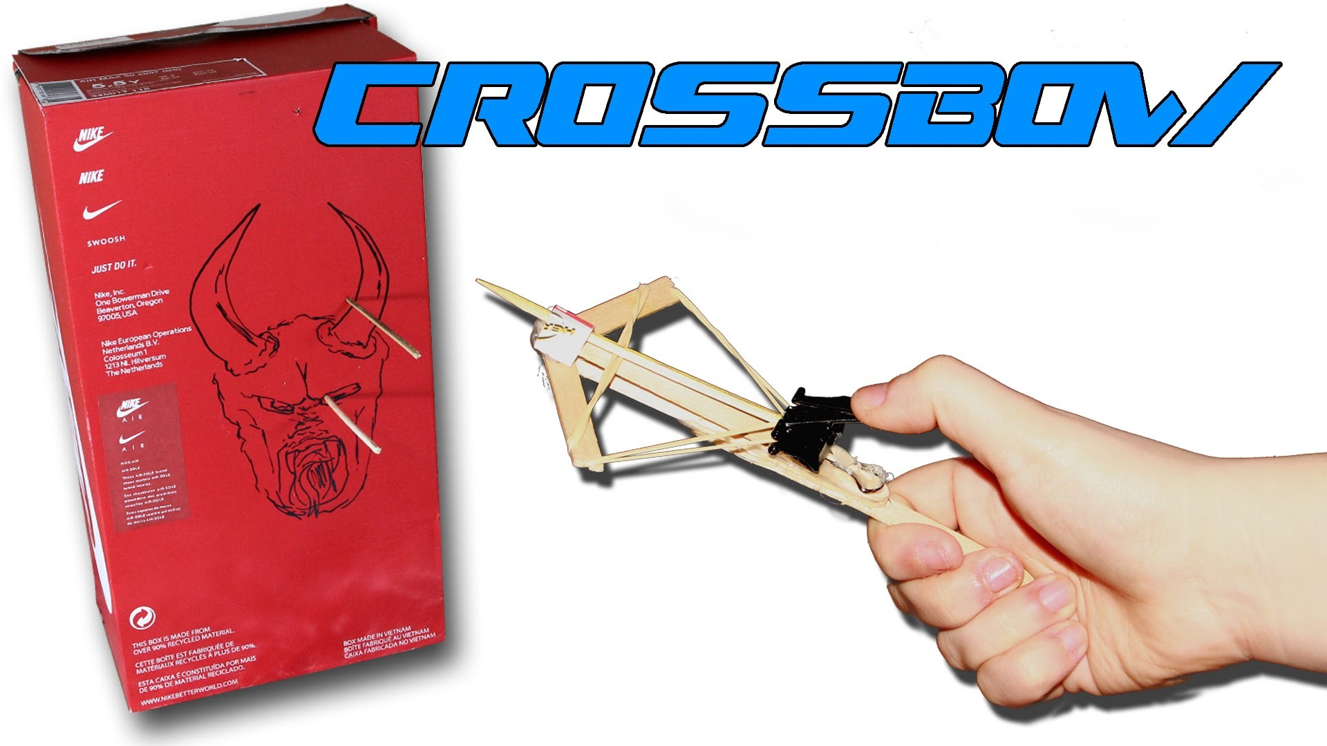 How to Make An Easy Crossbow