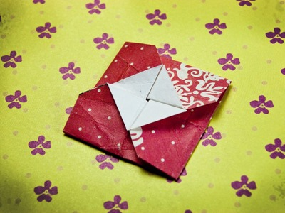 How to make an origami envelope easy