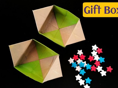 """How to make easy """"Gift Box with Flaps"""