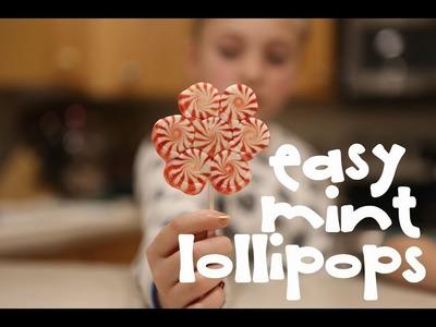How to make Easy Mint Lollipop Suckers {Episode 11}