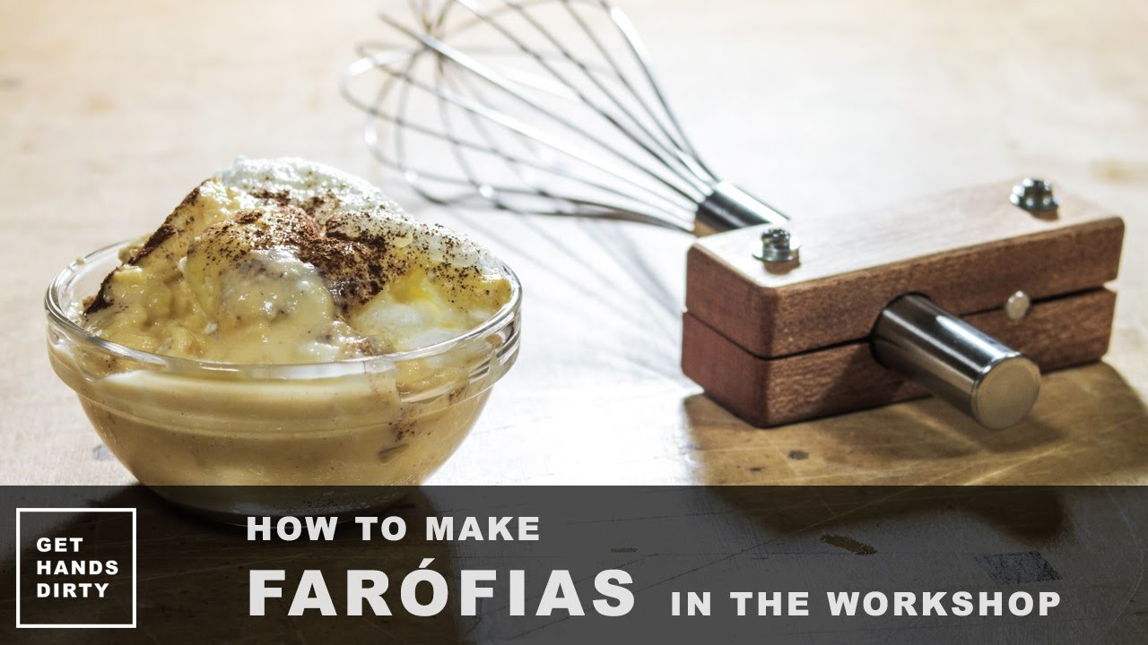 How to Make Farófias in the Workshop