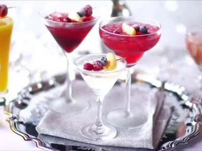 How to Make Frozen Fruit Cocktail Skewers | Tesco Food