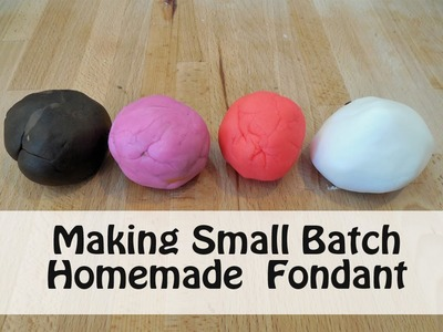 How to Make Homemade Fondant with Jill