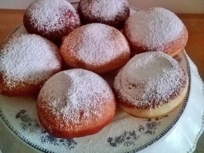 How to make Jam Doughnuts or Sufganiyah Recipe - A Homemade Chef