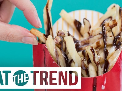 How to Make McDonald's Chocolate Fries | Eat the Trend