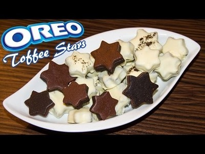How to make OREO White Chocolate Toffee Stars