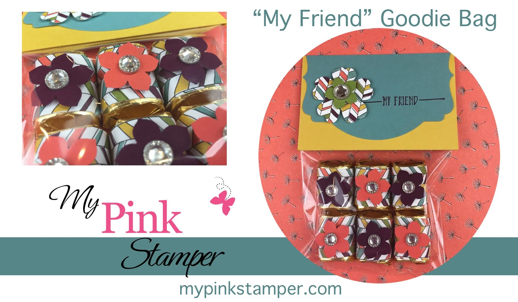 How to make Quick & Easy Party Favors using Stampin' Up! Hello Stamp Set Episode 440