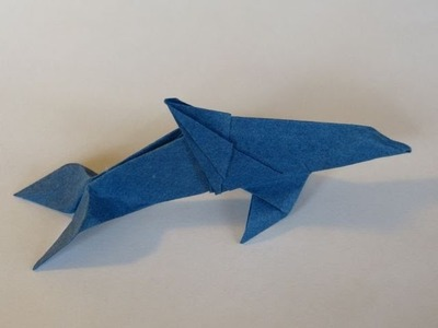 How To Make Scott's Origami  Dolphin (Nai`a)
