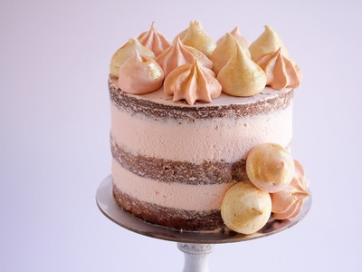 How To Make Super Thick Frosting Layers On A Naked Cake