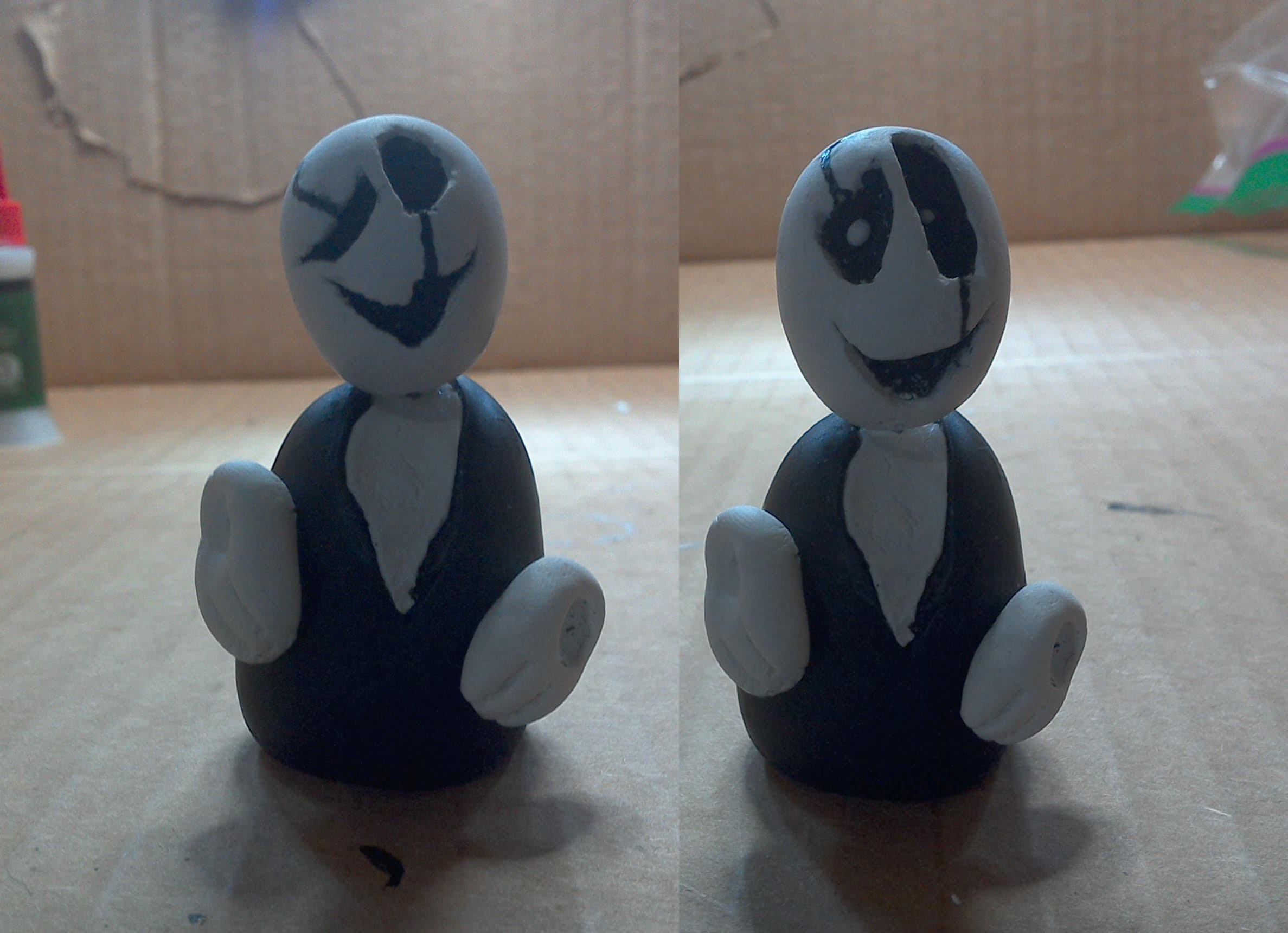 How to make W.D. Gaster out of clay!