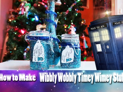 "How to Make ""WIBBLY WOBBLY TIMEY WIMEY STUFF"" (a Doctor Who Craft) - @dramaticparrot"