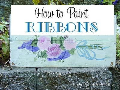 How to Paint Ribbons