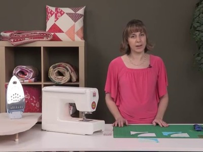 How to Sew Curves - Drunkard's Path Quilt Block