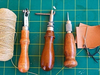 How to Sew Leather by Hand